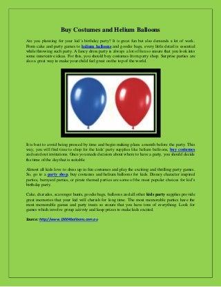 Balloons pdf