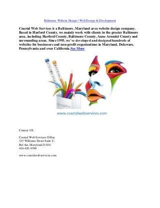 Bel Air MD Website Design Company Harford County Website Design