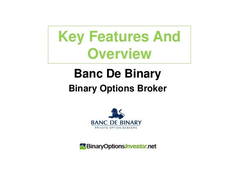 Banc De Binary Review South Africa | Banc De Binary Demo Account