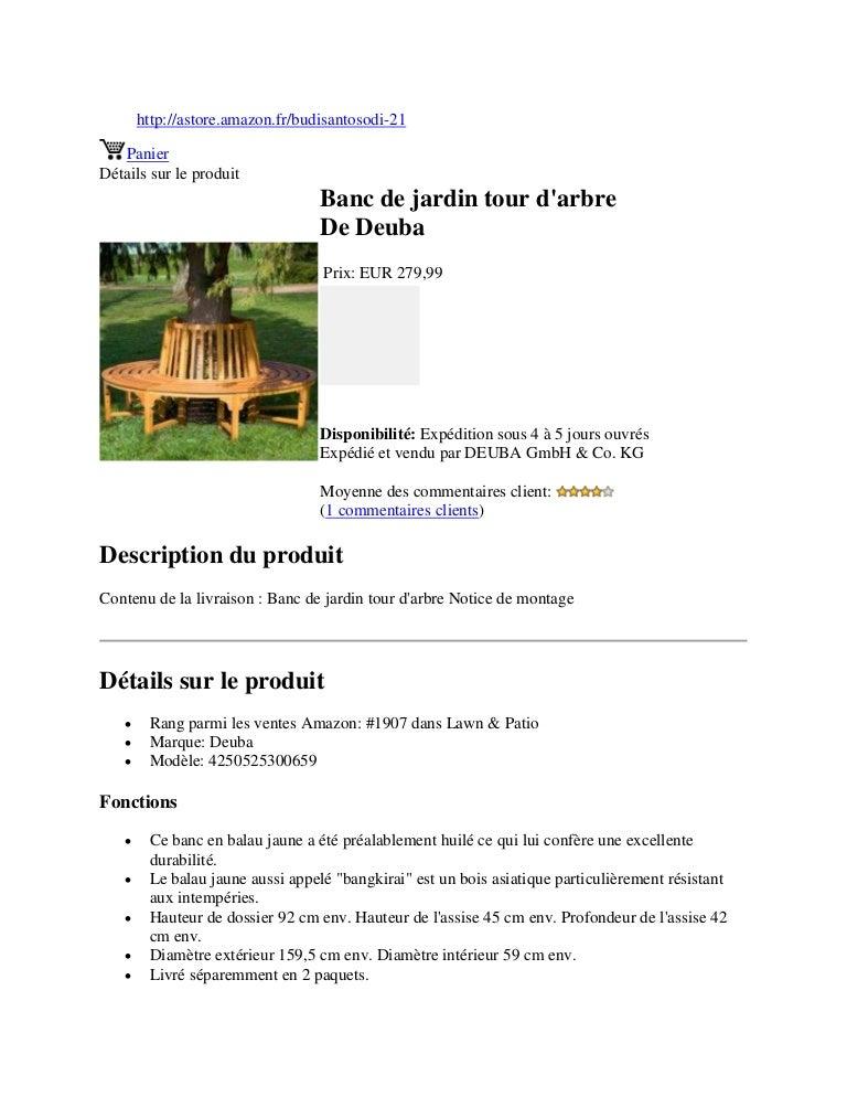 Banc De Jardin Tour D Arbre