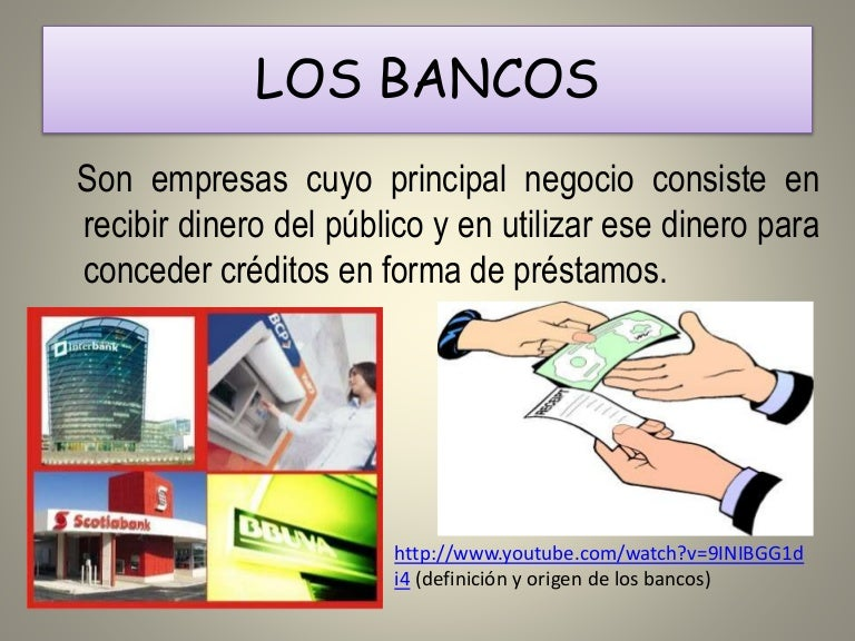 Origen de los bancos