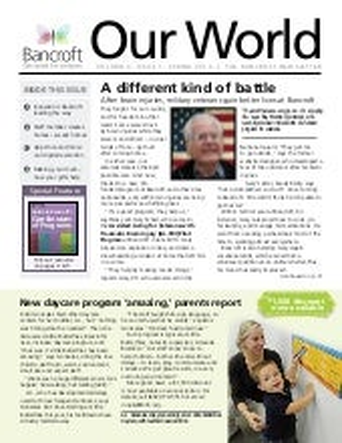 Bancroft our world_spring2012web