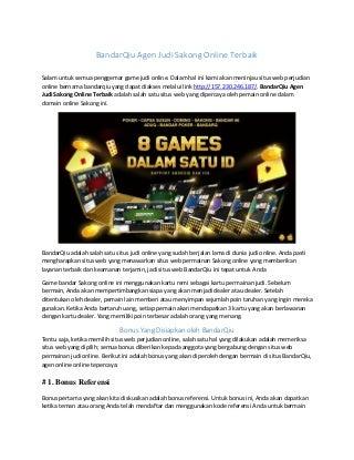 Dapatkan Kaya Bermain Poker Online – Tips Hebat lakukan Menang di Catatan Poker