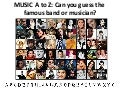 Bands a to z guessing game