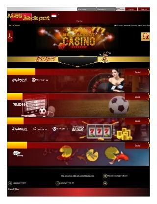 Maujackpot - Situs Judi Slot Terbaik, Casino Online Terbaru, Bandar Bola Terpercaya