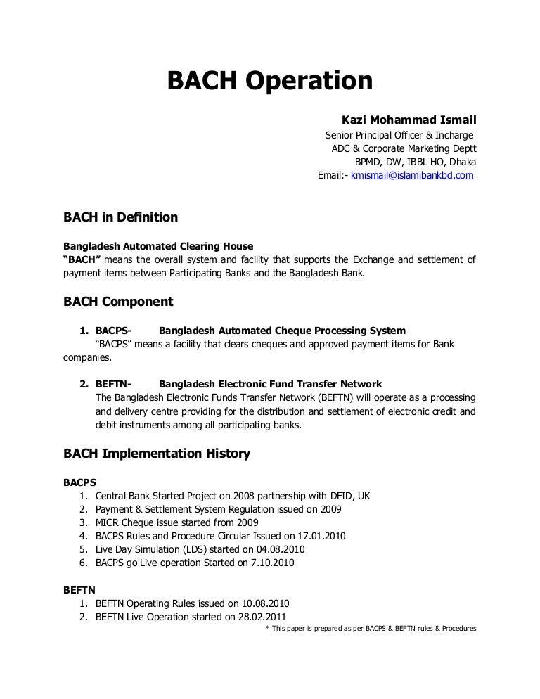 bangladesh automated clearing house rh slideshare net Samsung SHS-5230 English Manual Weider Pro 4100