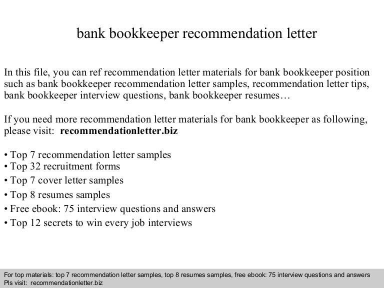 Bankbookkeeperrecommendationletter 140825011738 phpapp01 thumbnail 4gcb1408929484 spiritdancerdesigns Images