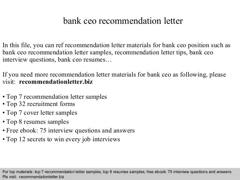 Promotion Recommendation Letter Examples