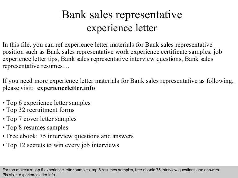 banksalesrepresentativeexperienceletter 140828103137 phpapp01 thumbnail 4 jpg cb 1409221919