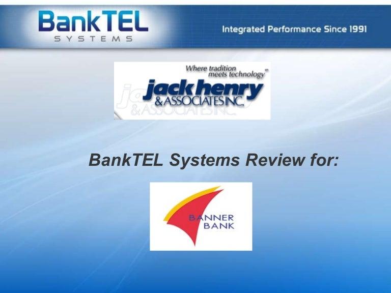 Banktel Jack Henry Review Banner Bank