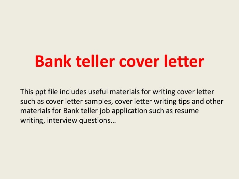 examples of cover letters for bank tellers looking for expert help with homework assignments bank teller examples of cover letters for bank tellers