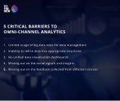 5 Critical barriers to omni-channel-analytics and how to overcome them