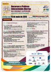 PPGE-UFF uploaded Seminário Recursos e Práticas Educacionais Abertas no Ensino Superior: desafios e oportunidades