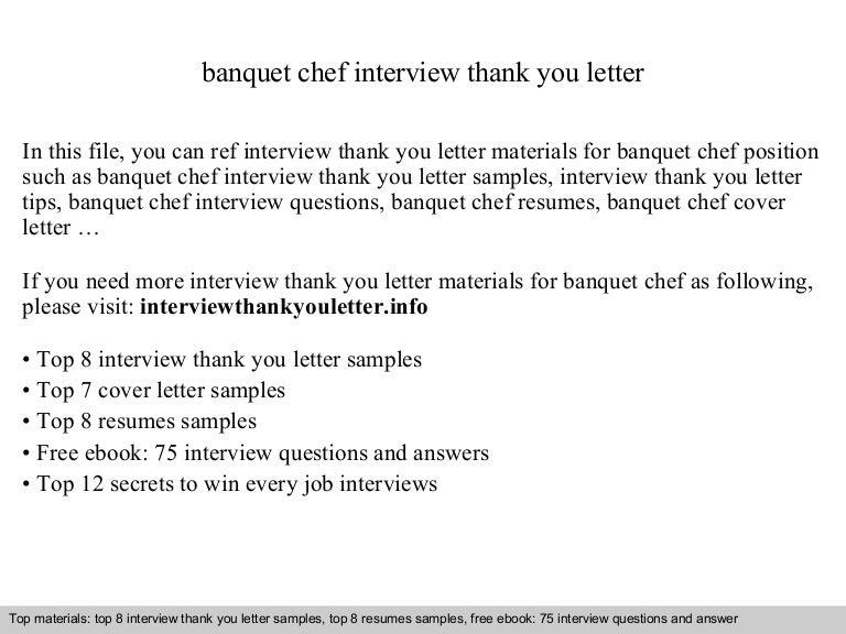 banquet chef - Banquet Chef Job Description