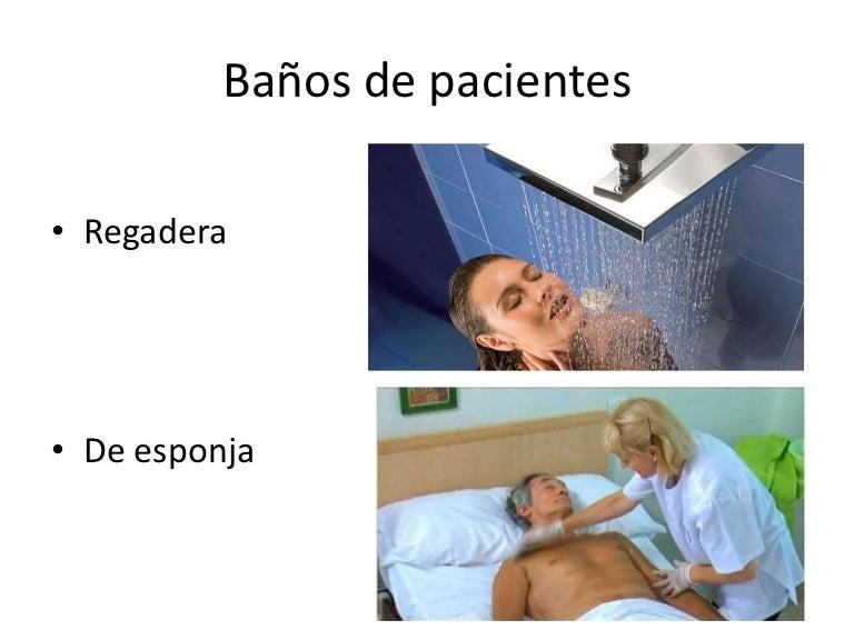 baño de esponja - Bano General Del Paciente En Cama
