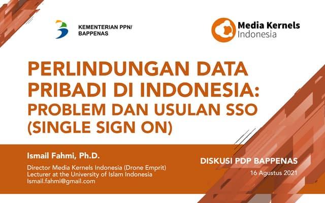 Perlindungan Data Pribadi di Indonesia