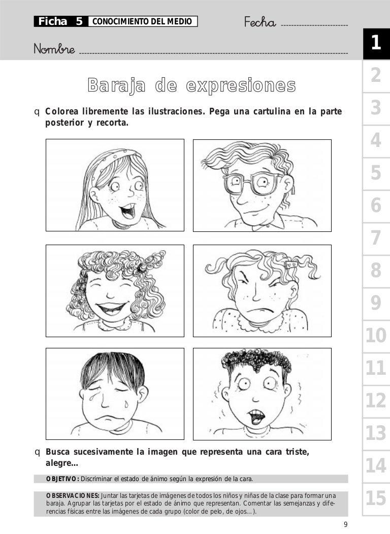 Baraja De Expresiones