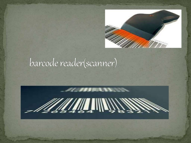 Barcode Reader(Scanner)