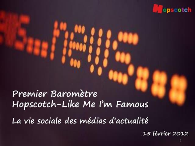 Baromètre Hopscotch Like Me I'm Famous