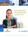 Baromètre RH des collectivités locales 2013