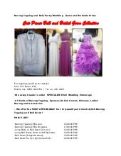 Barong tagalog and ball wedding gown at affordable prices