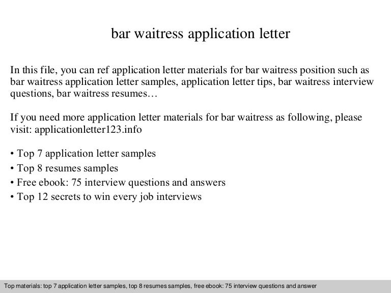 Barwaitressapplicationletter 140904191309 Phpapp01 Thumbnail 4cb1409858014