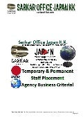Temporary & Permanent Staff Placement Agency Business License Criteria
