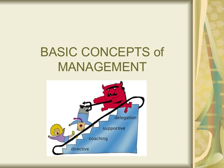 Basic concept of management sciox Choice Image