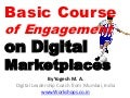 Basic Course of Engagementon Digital Marketplaces