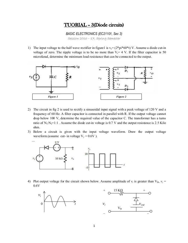 Basic electronics Tutorial 3