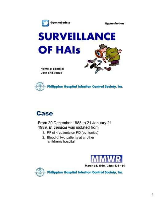 Basic HAI Surveillance