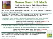 Shaklee Basic H2 Cost Comparison