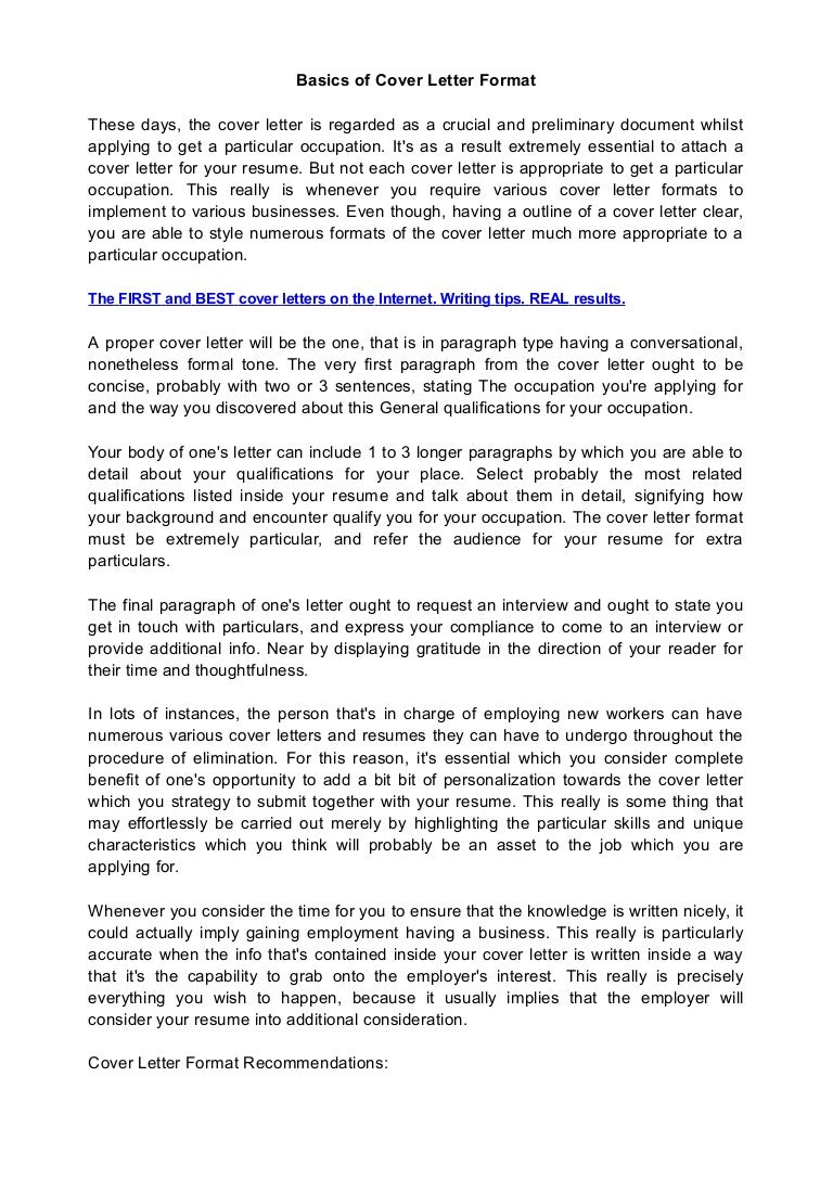 How To Wrtie A Cover Letter Cover Letter Writing A Cover