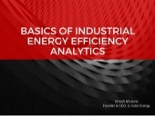 Basics of #Industrial #EnergyEfficiency #Analytics