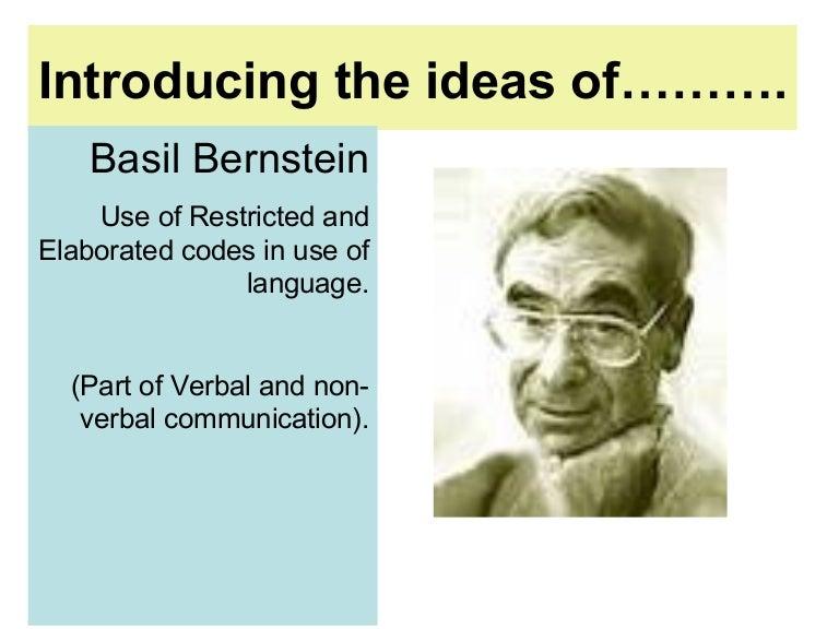 basil bernstein education