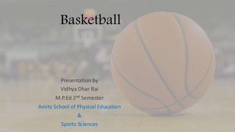 basketball history and rules