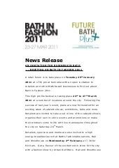 8+ fashion press release template   financial statement form.