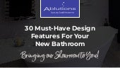 Ablutions Luxury Bathrooms – Bringing Our Showroom To You