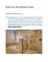 Bathroom Remodeling Tampa bathroom remodeling tampa