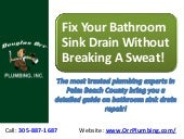 Fix Your Bathroom Sink Drain Without Breaking A Sweat!