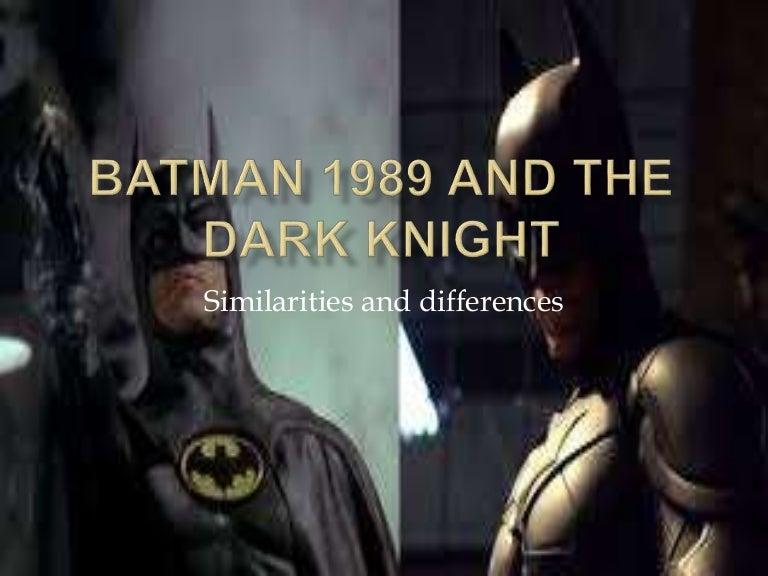 batman and the dark knight essay