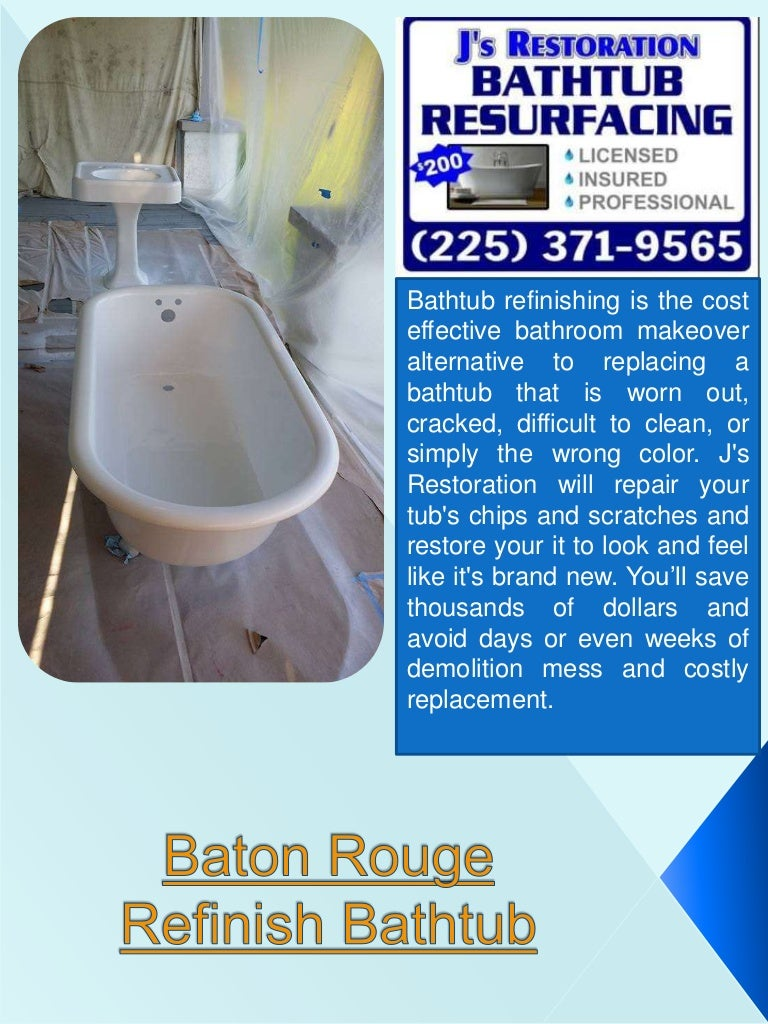 New Orleans Tub Refinish