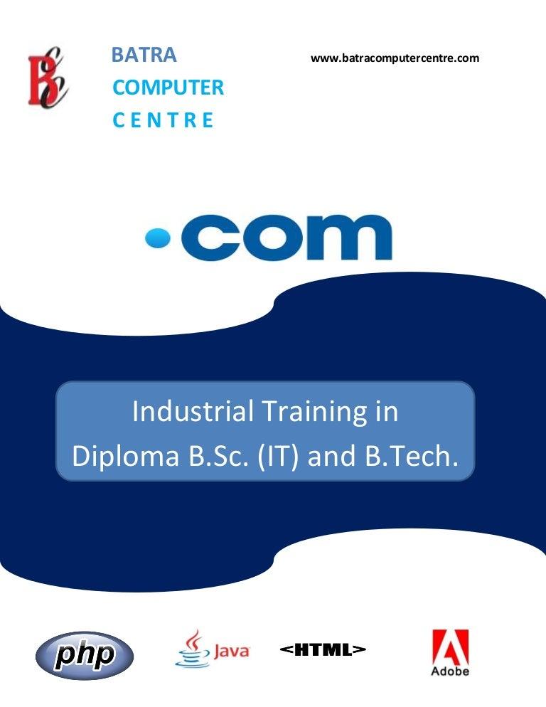 Basic Computer Training Pdf