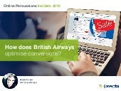 [British Airways] 8 Persuasive Principle Used by British Airways to Boost their Conversions