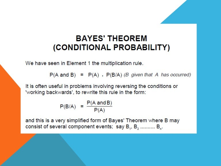 Ppt bayes' theorem powerpoint presentation, free download id.