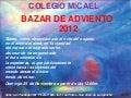 Bazar de Adviento Colegio Micael