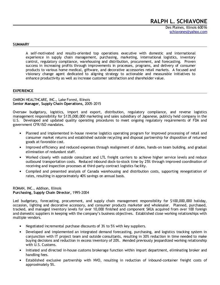 ralph schiavone public resume
