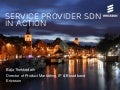 Service provider SDN in action