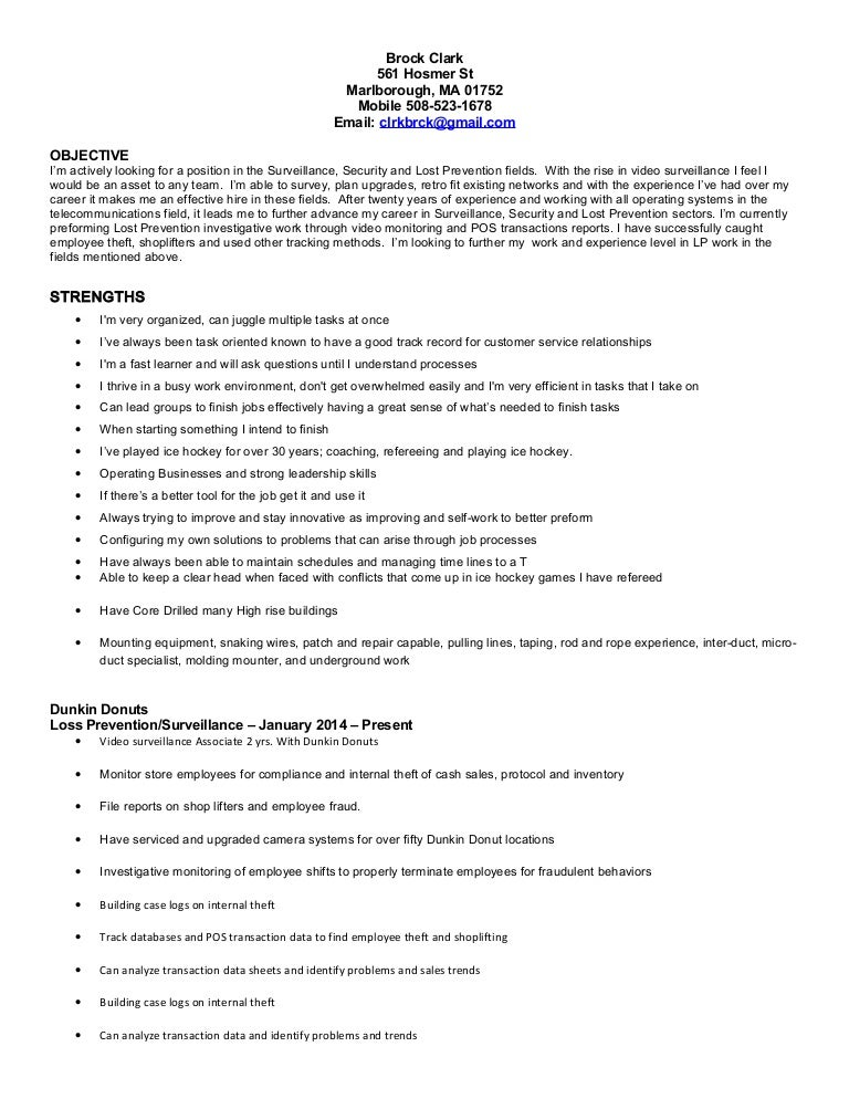 brockclark lp resume
