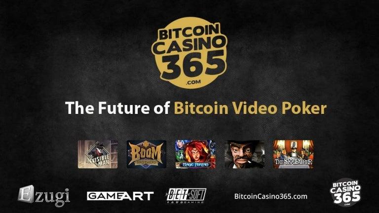 bitcoin video poker